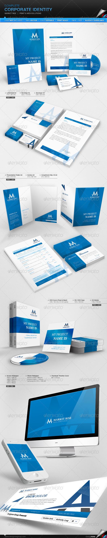 GraphicRiver Corporate Identity Market Rise 4398920