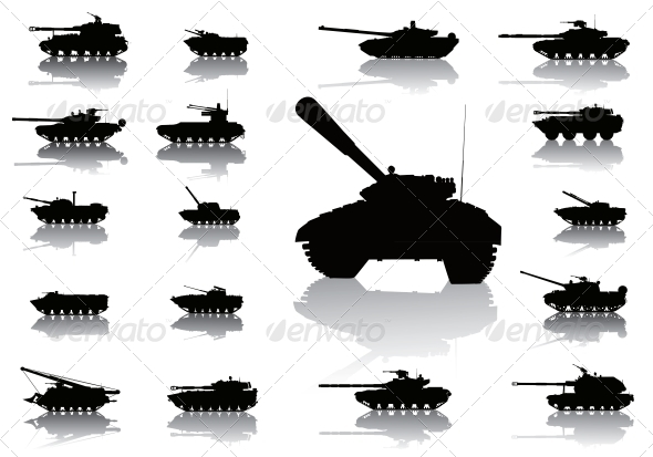 GraphicRiver Weapon.Tanks 4399078