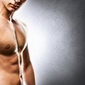 Handsome young man torso closeup - PhotoDune Item for Sale