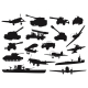 Military Silhouettes - GraphicRiver Item for Sale