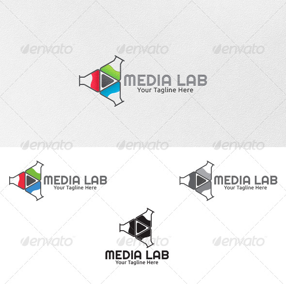 GraphicRiver Media Lab Logo Template 4399425