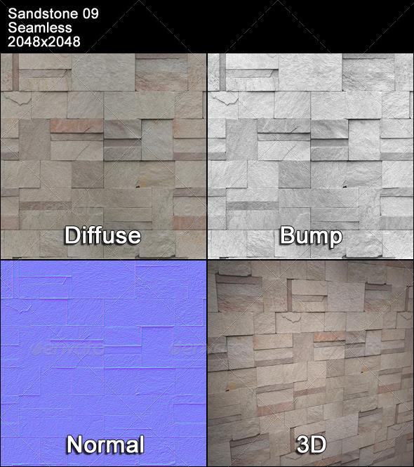 3DOcean Sandstone Seamless Texture 09 4399606
