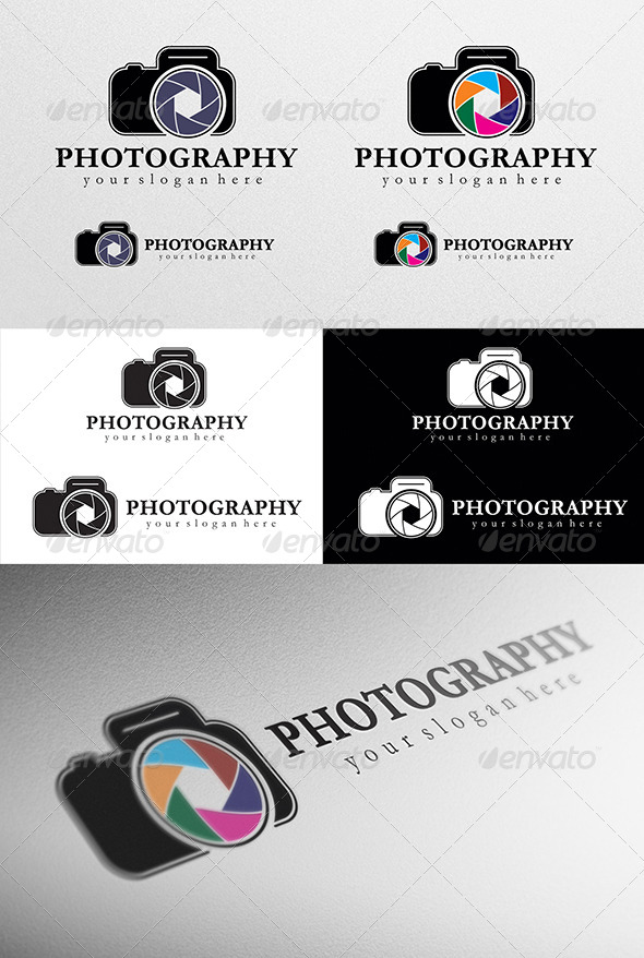 GraphicRiver Photographer Logo 4312405