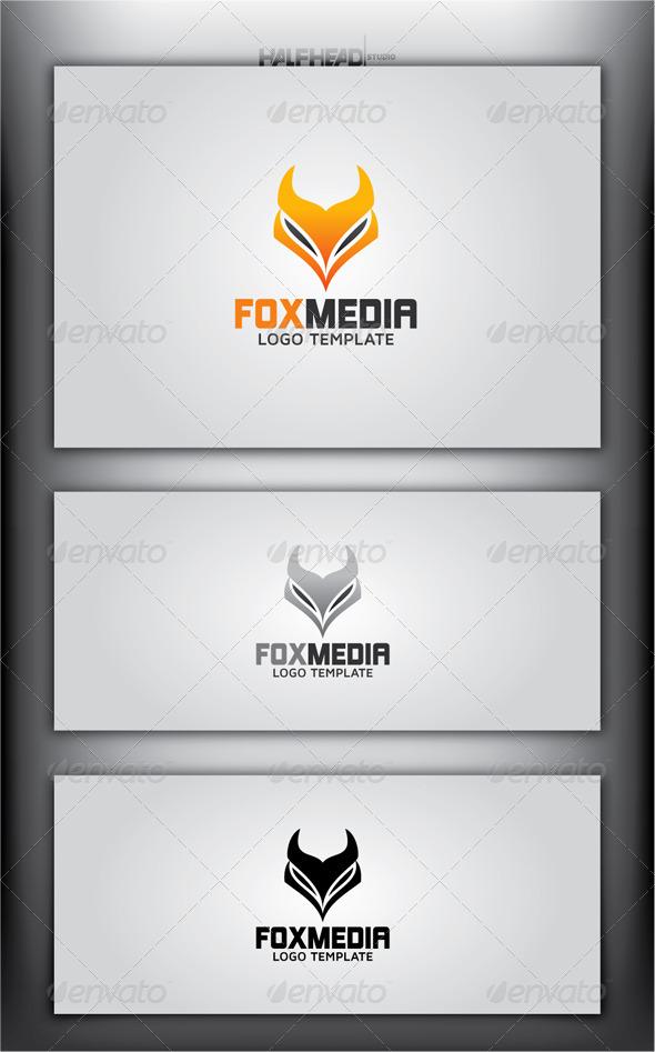 GraphicRiver FOX MEDIA Logo Template 4399771