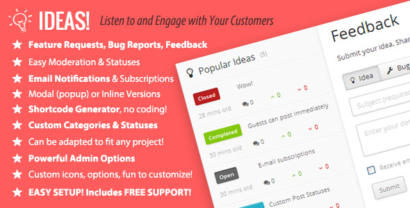 CodeCanyon Ideas Interactive feedback and commenting system 4392757