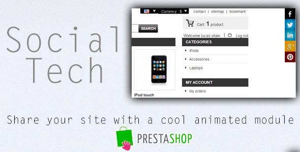 Social Tech Prestashop Module