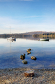 Two boats moored on Lake Windermere - PhotoDune Item for Sale