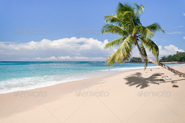 Deserted island - Stock Photo - Images