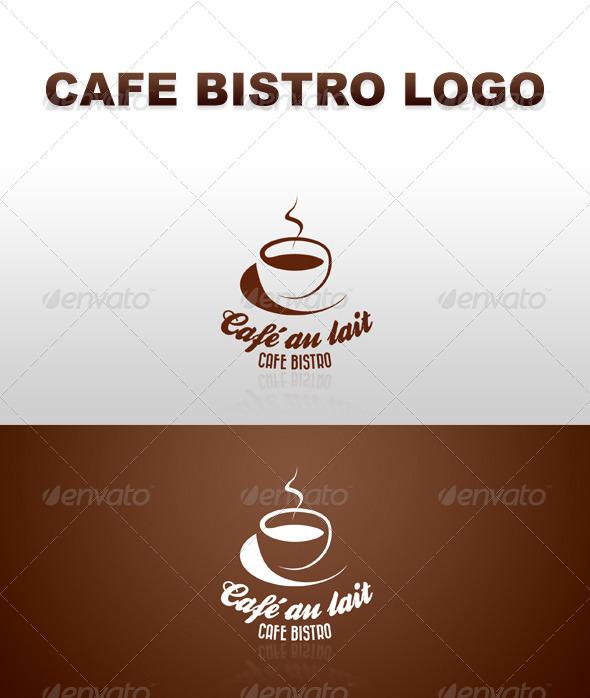 Retro Cafe Bistro Bar Logo 7