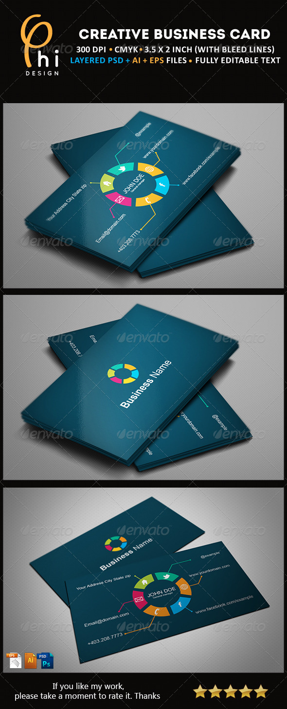 GraphicRiver Creative Business card 4403426