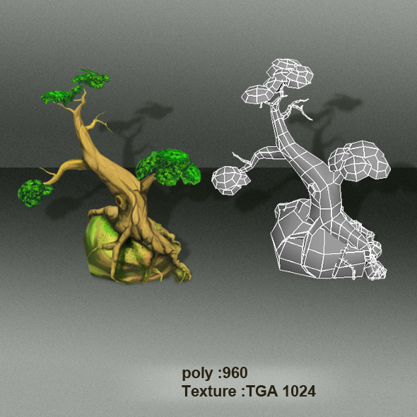 3DOcean Trees Low Poly 4403764