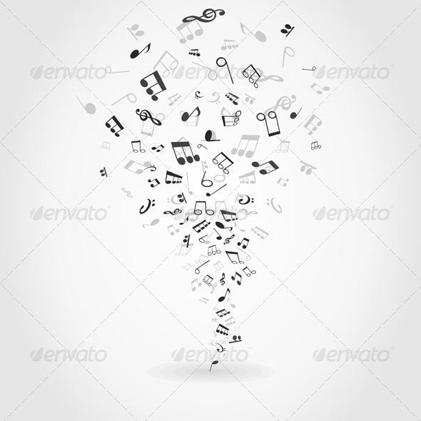 GraphicRiver Abstract Music 3 4404498