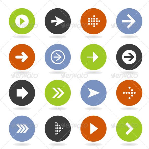 GraphicRiver Arrow Icon 8 4404522