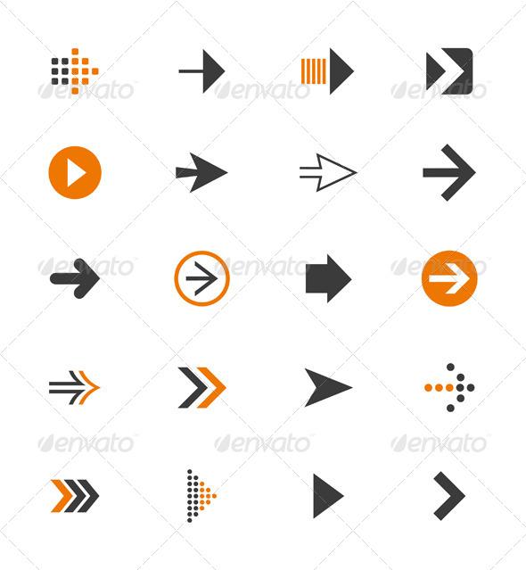 GraphicRiver Arrow Icon 9 4404526