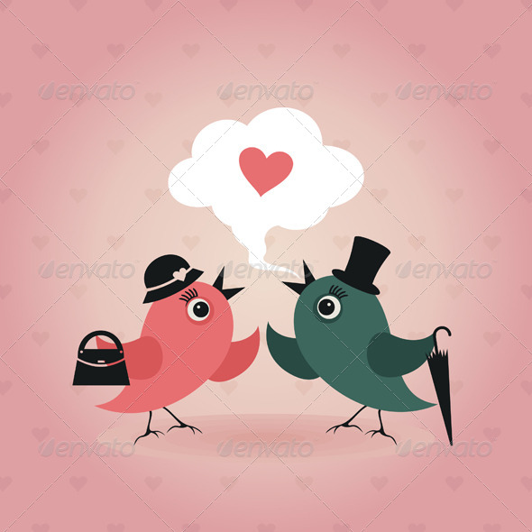 GraphicRiver Bird of Love 7 4404577