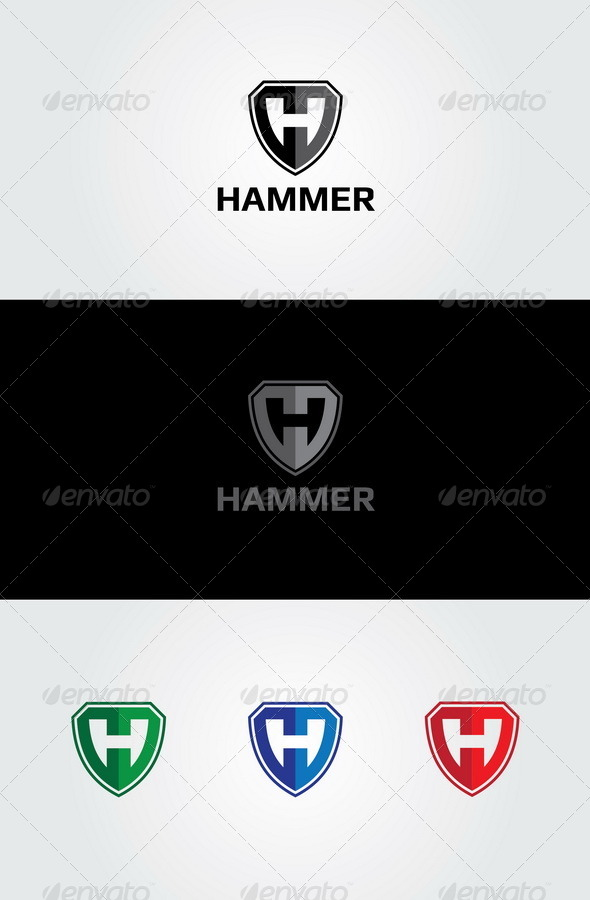 GraphicRiver Hammer Logo 4404729