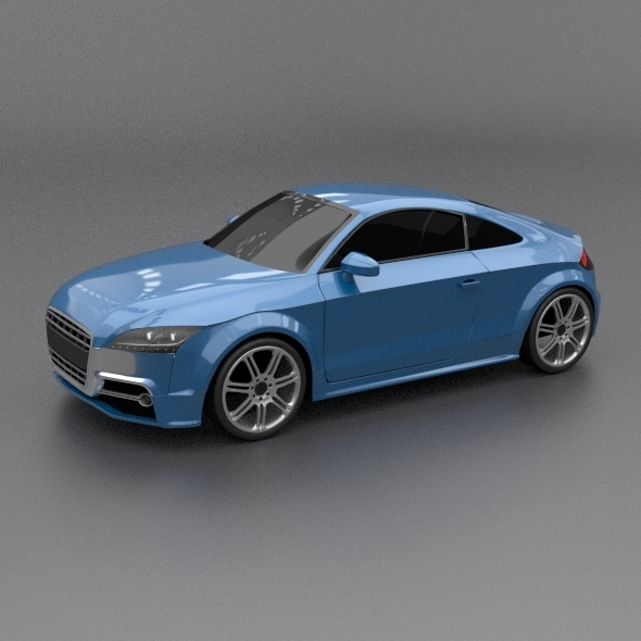 3DOcean Audi tts 2011 restyled 4404834