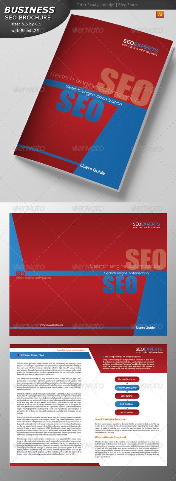 GraphicRiver Seo Brochure Design 4404954