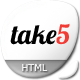 Take5 is a premium multipurpose template - ThemeForest Item for Sale