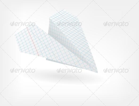 GraphicRiver The Paper Plane 4405577