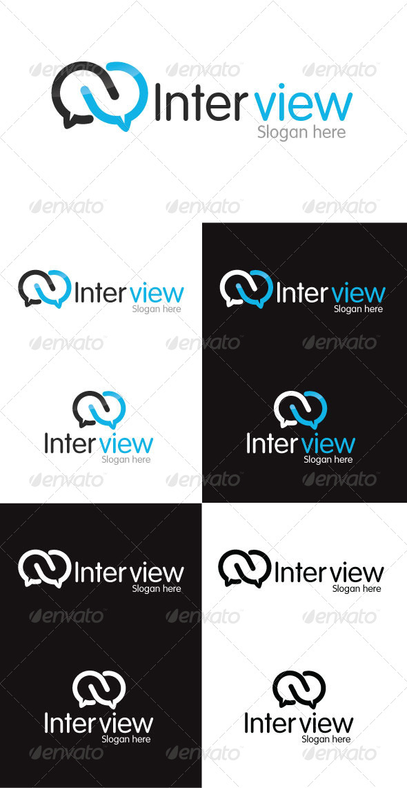 GraphicRiver Interview Logo Template 4292327