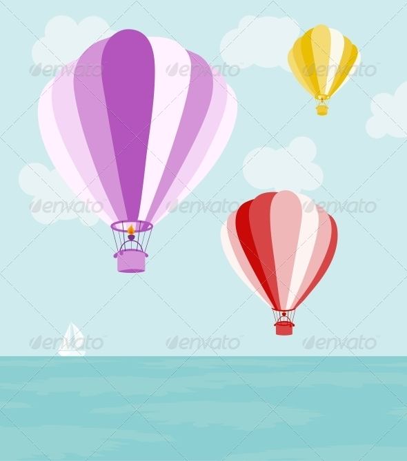 GraphicRiver Air Balloons 4405608
