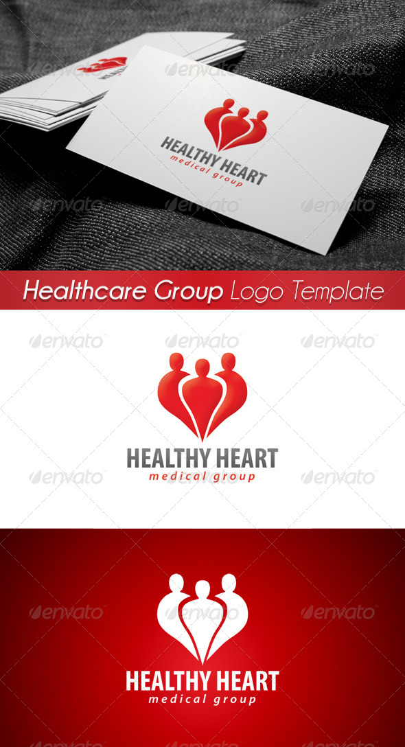 GraphicRiver Medical Healthcare Group Logo 4 4301703