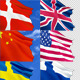 Waving Flags - GraphicRiver Item for Sale