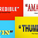Bold Movie Quotes - VideoHive Item for Sale