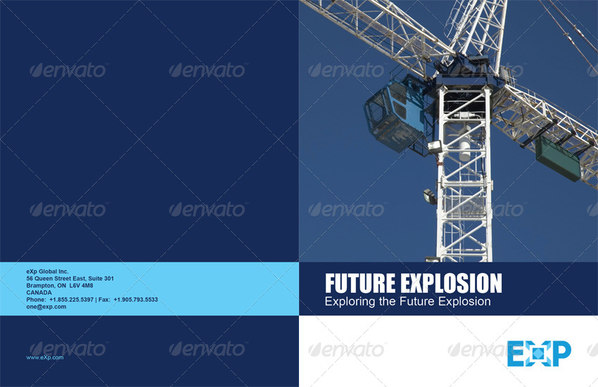 16 Pages Energy Construction Corporate Brochure