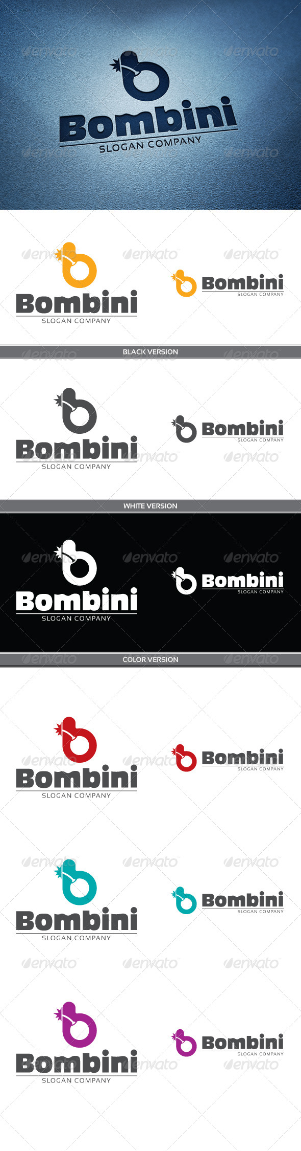 GraphicRiver Bombini 4303921
