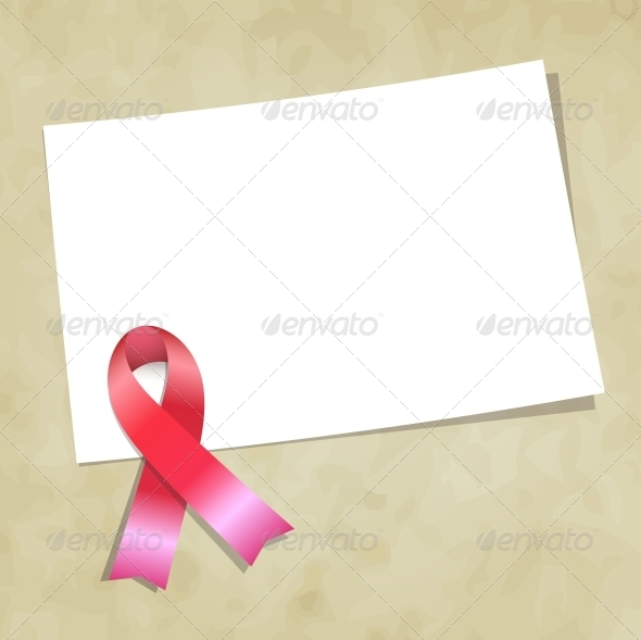 GraphicRiver Pink Ribbon 4406848