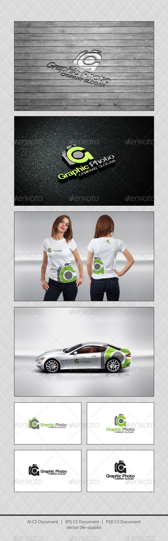 GraphicRiver Graphic Photo G Logo Templates 4406860