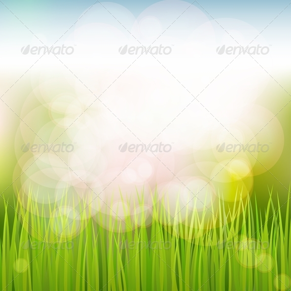GraphicRiver Natural Spring Background 4407541