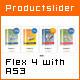 XML Basic Productslider based on Flex 4 / AS3
