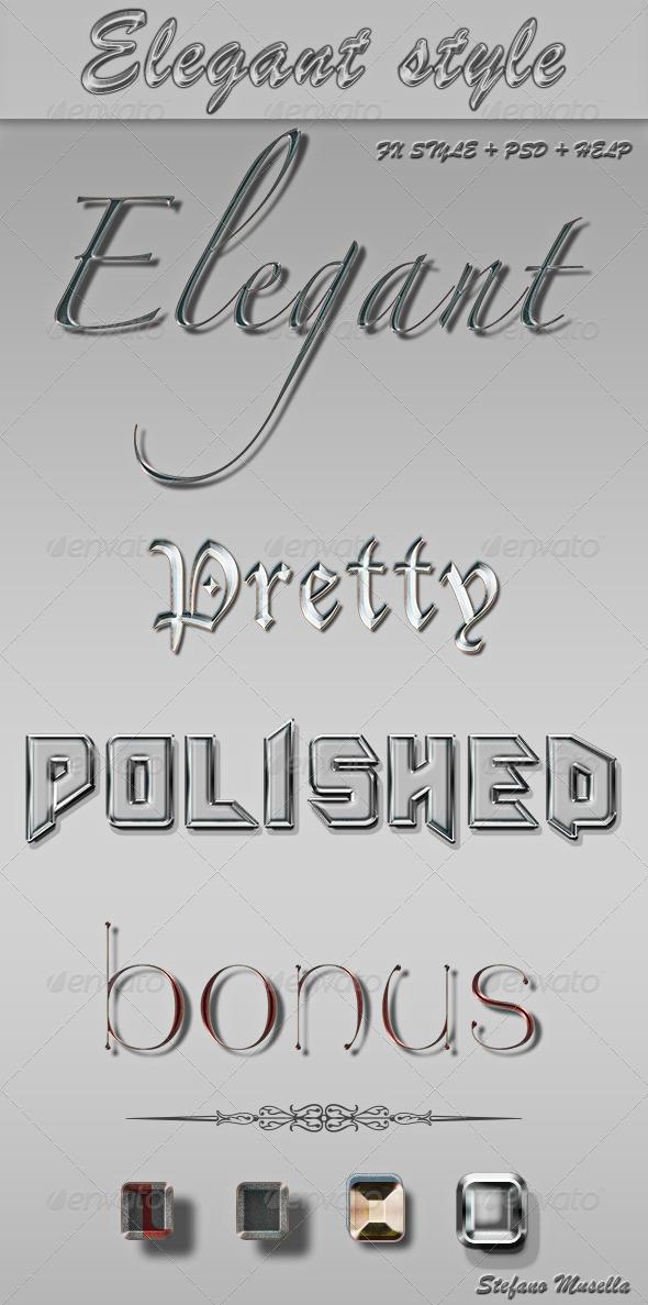 GraphicRiver Elegant Style 4407884