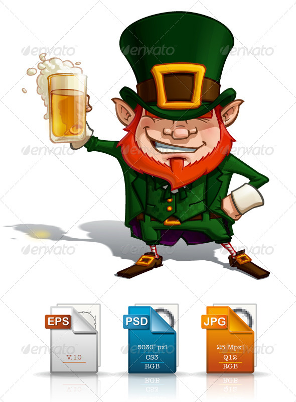 GraphicRiver St Patrick Cheers 4408176
