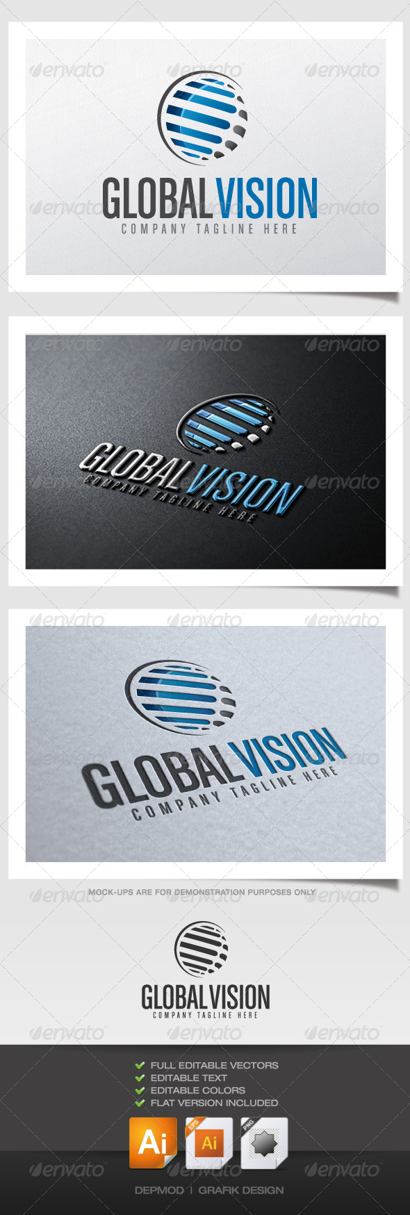 GraphicRiver Global Vision Logo 4408181