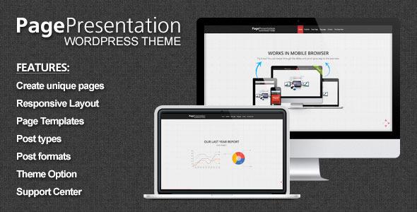 ThemeForest Page Presentation Wordpress Theme 4376486