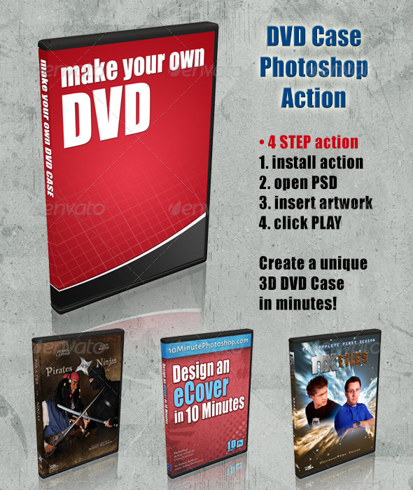GraphicRiver DVD Cover Action 4408226