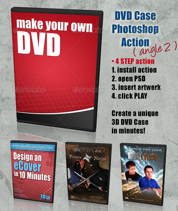 GraphicRiver DVD Cover Action Angle 2 4408228