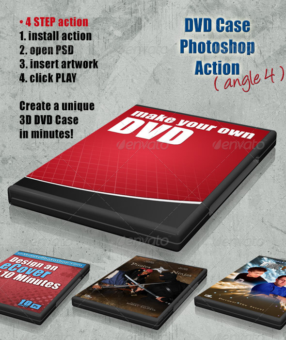 GraphicRiver DVD Cover Action Angle 4 4408230