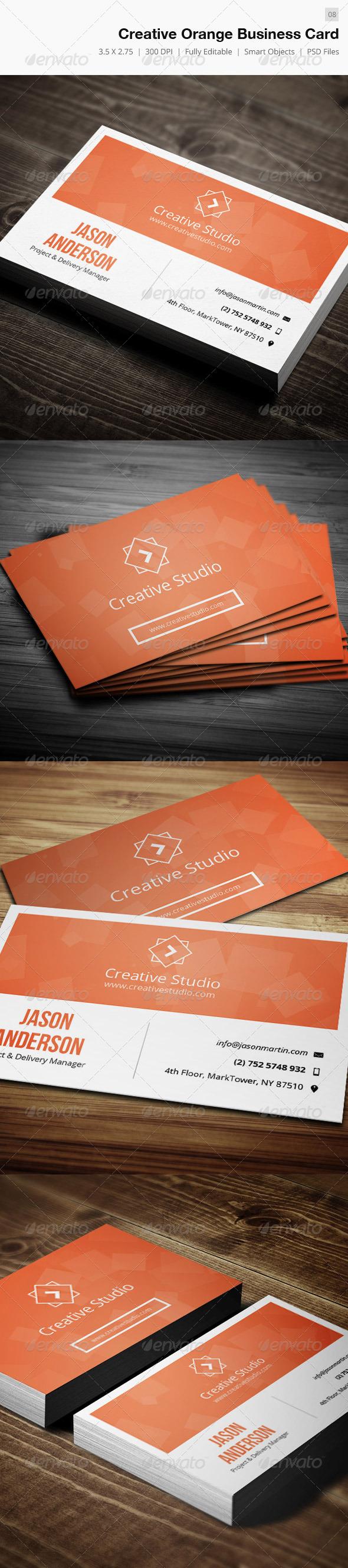 Creative Corporate Business Card - 07 - Corporate Business Cards