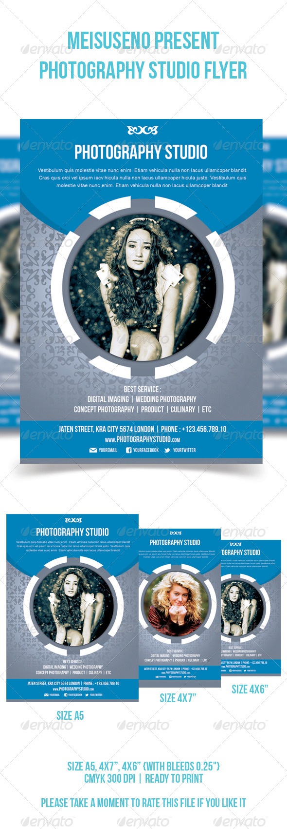 Photography Studio Flyer - V2 - Corporate Flyers
