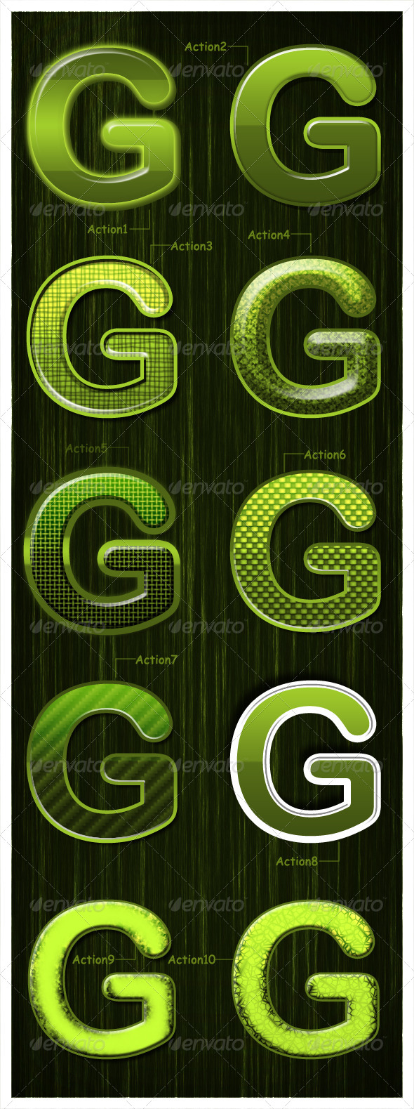 GraphicRiver Glossy Green 4347532