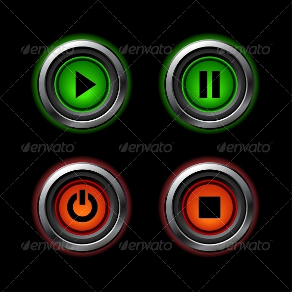 GraphicRiver Web Buttons 4408952