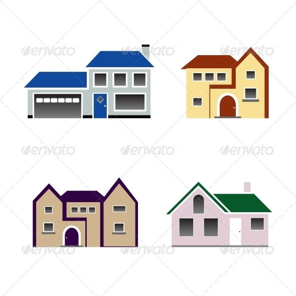 GraphicRiver House Icon Vector 4408975