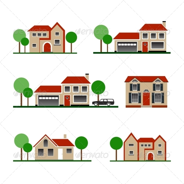 GraphicRiver Vector House 4408976
