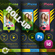 Smart Phone Roll-Up Template - GraphicRiver Item for Sale