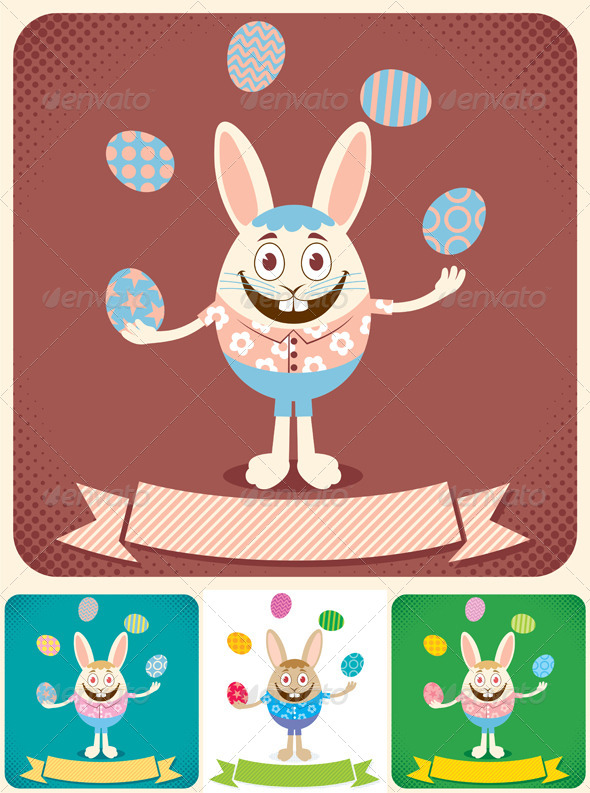 GraphicRiver Easter Card 2 4409228